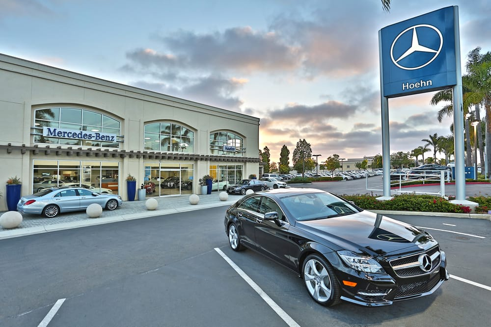 hoehn mercedes benz customer parking yelp