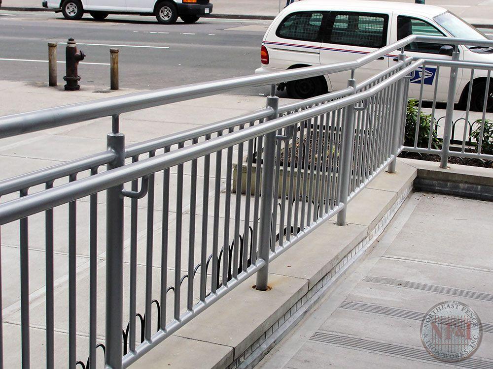 Railings - This Custom Pipe Railing and Hand Rail are a ...