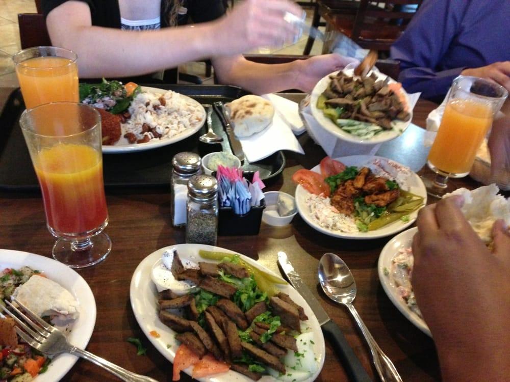 They were great in offering choices to those of us new to for Aladdin mediterranean cuisine