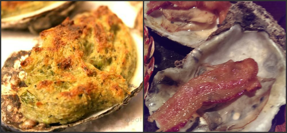 Oysters casino what i thought i was getting and what for Big fish dearborn mi