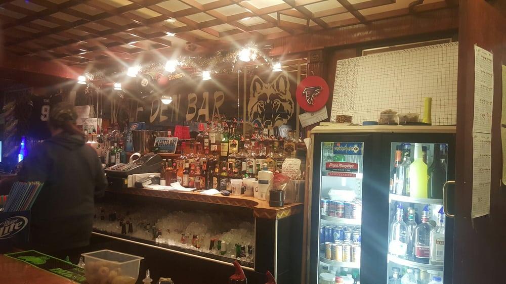 Wolf Den Bar: 1679 Sunset Dr, Rock Springs, WY