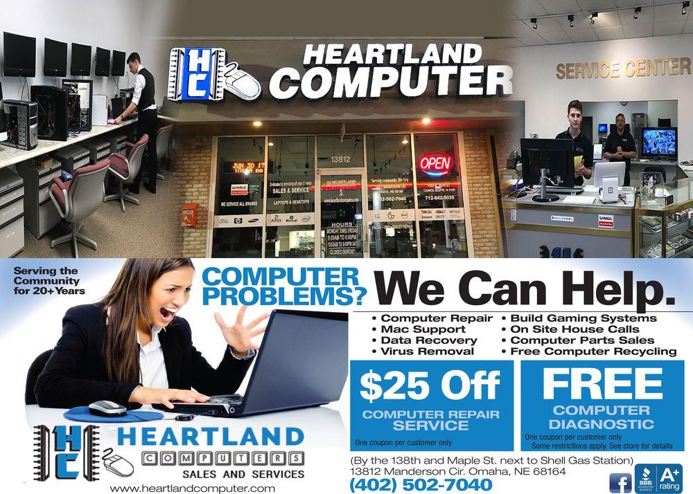 Heartland Computer: 1924 W Broadway, Council Bluffs, IA