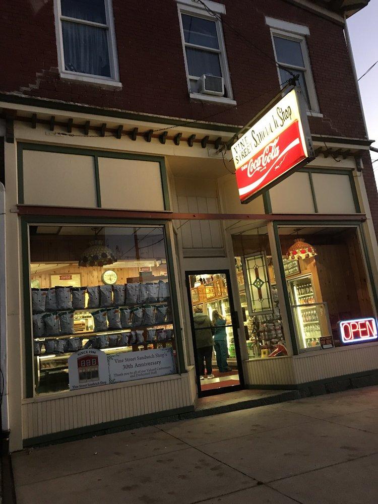 Vine Street Sandwich Shop: 150 W 2nd St, Mount Carmel, PA