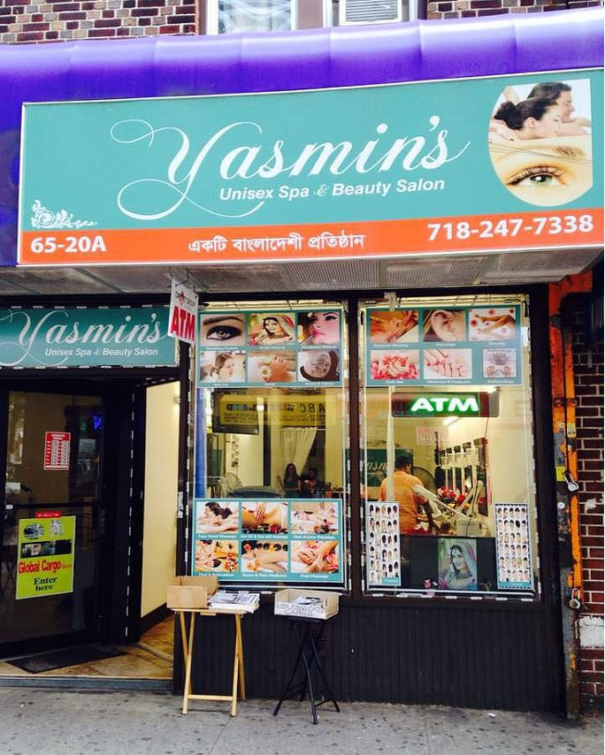 Store front yelp for Yasmin beauty salon