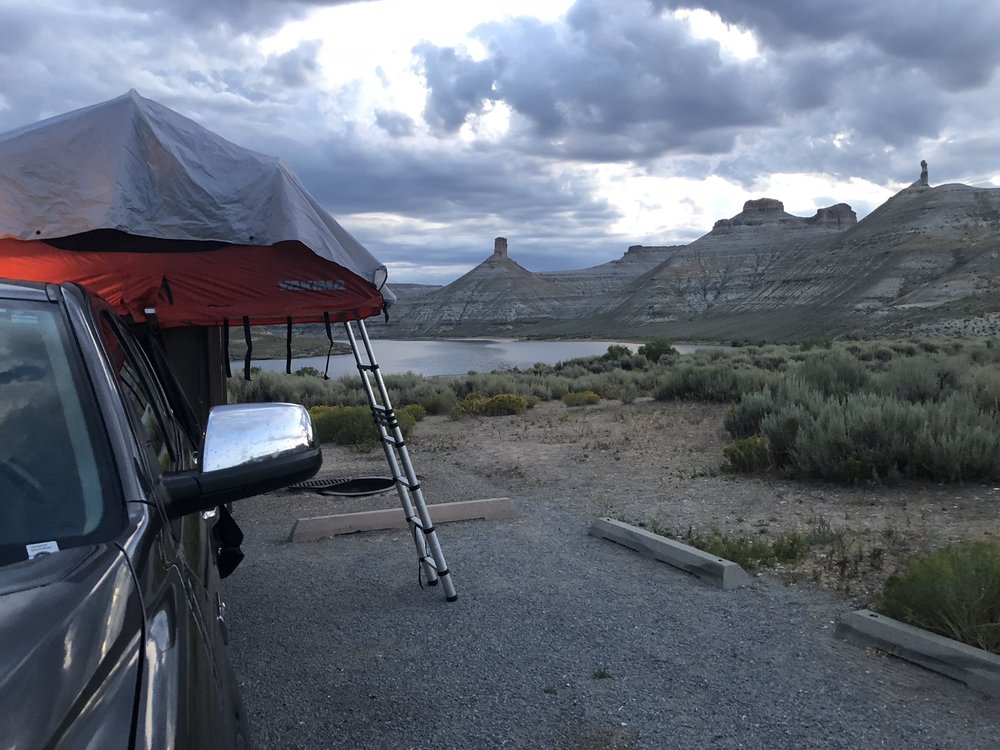 Firehole Canyon Campground: 106 Forest Rd, McKinnon, WY