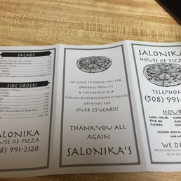 Photos For Salonika House Of Pizza Menu Yelp