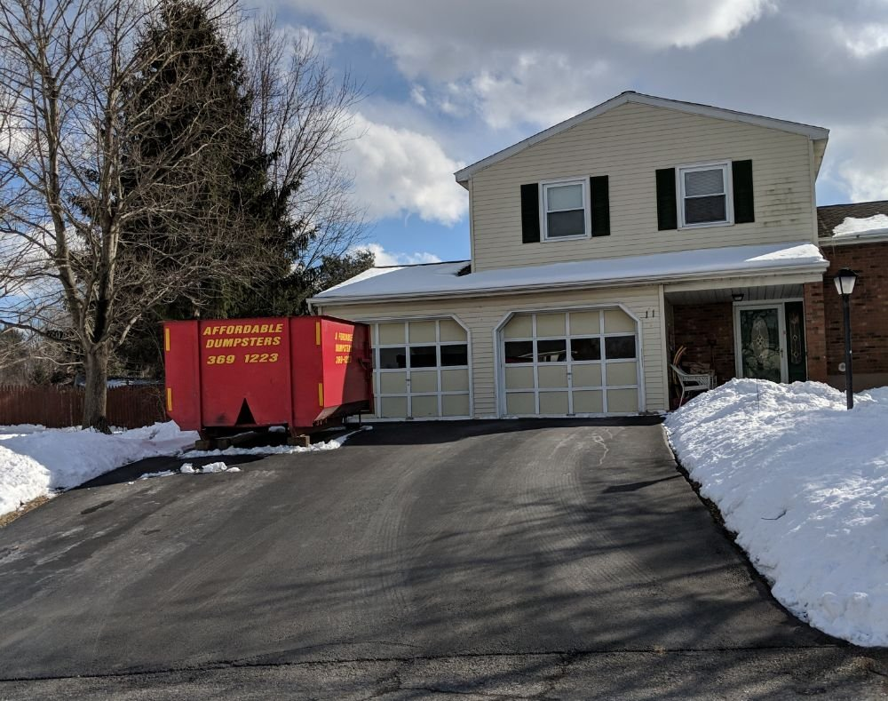 Affordable Dumpsters: 15 Arch St, Watervliet, NY