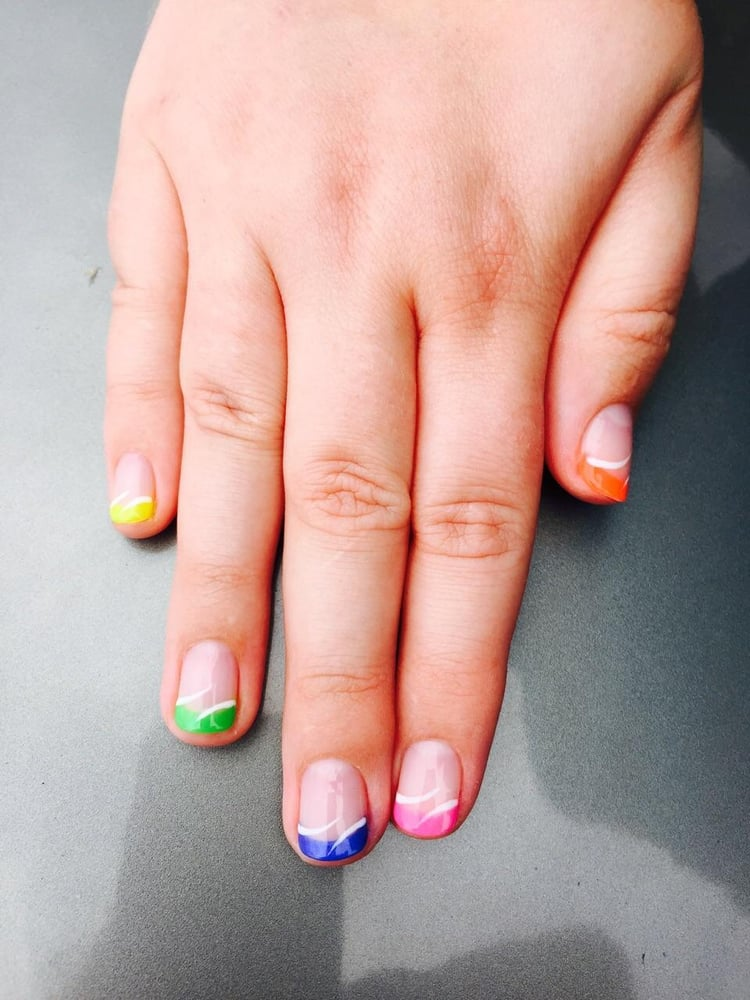 French Manicure Nail Art Yelp