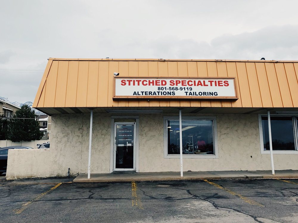 Stitched Specialties: 7343 S 900th E, Midvale, UT