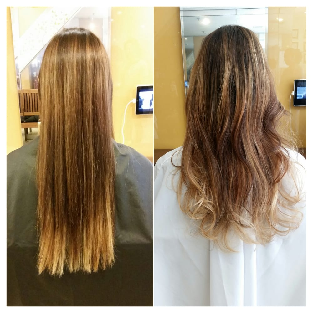 Ash blonde balayage yelp for Aate beauty salon