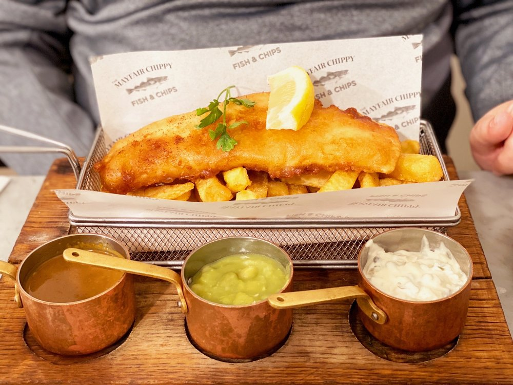 The Mayfair Chippy: 14 North Audley Street, London, XGL
