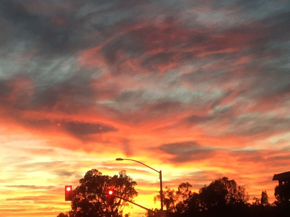 Chula Vista Rv Resort Special: Sunset On Oct. 7