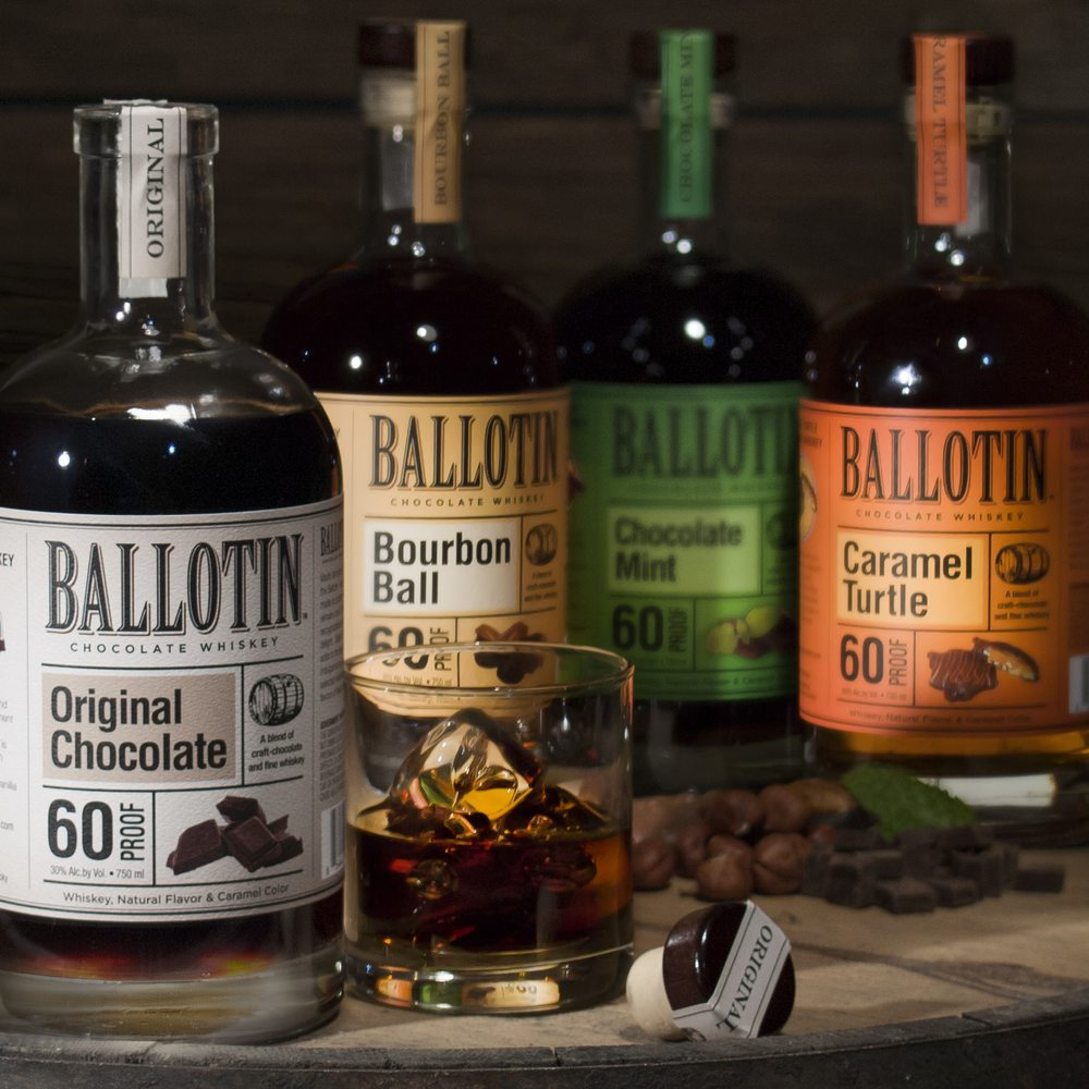 Ballotin Chocolate Whiskey - Distilleries - 2600 Constant Comment ...
