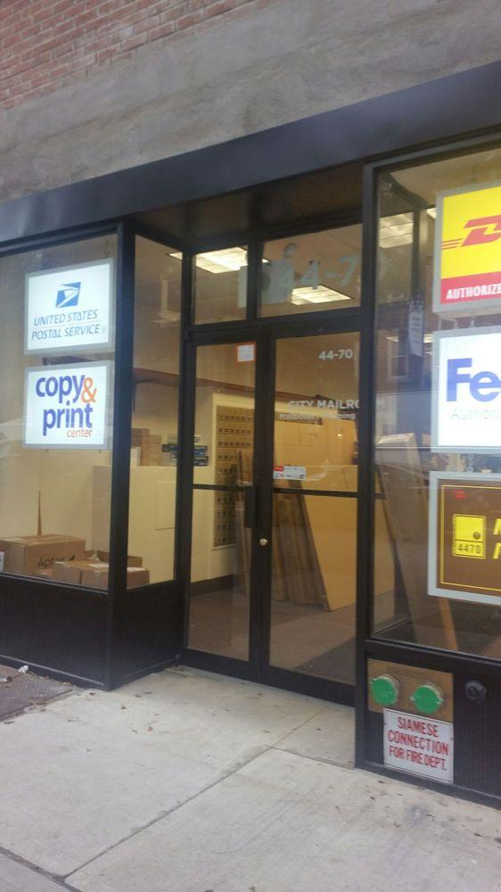 City Mailroom: 44-70 21st St, Queens, NY