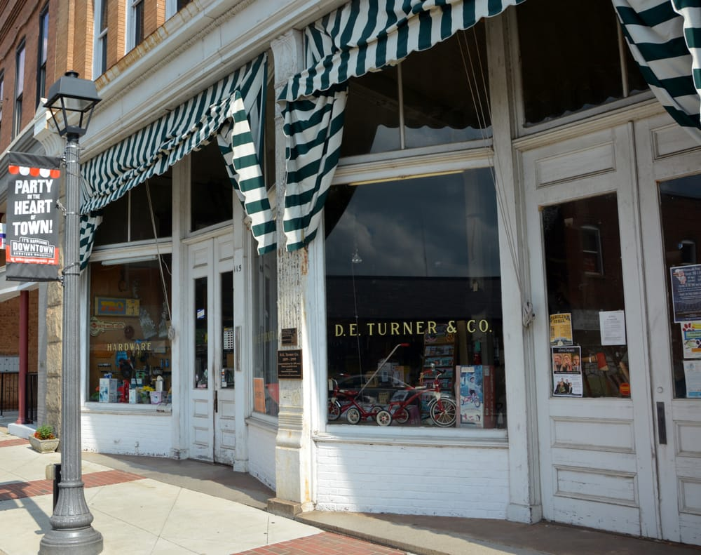 Turner D E & Co Hardware Store: 111 N Main St, Mooresville, NC