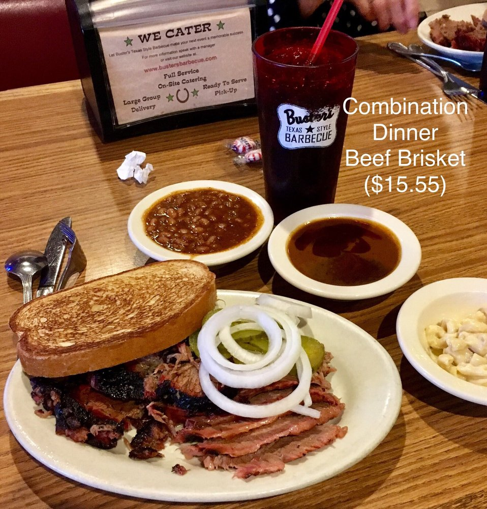 Buster's Texas Style Barbecue: 11419 SW Pacific Hwy, Tigard, OR