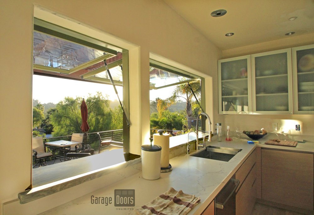 Awning Windows Side By Side In Olive Green Yelp