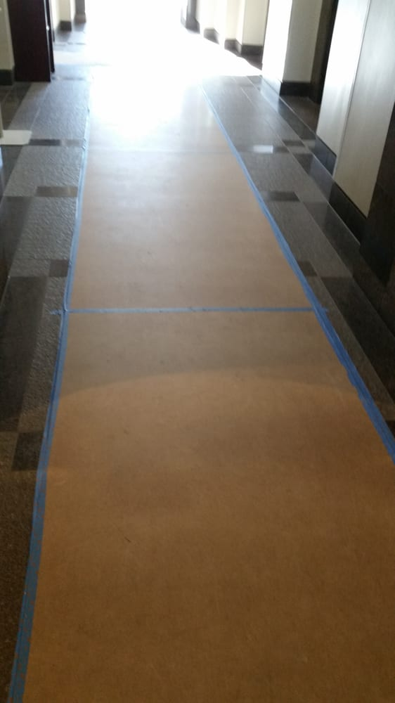 Dont Put Cardboard On Your Beautiful Floor In An Effort To Make The - How to make tile floor not slippery