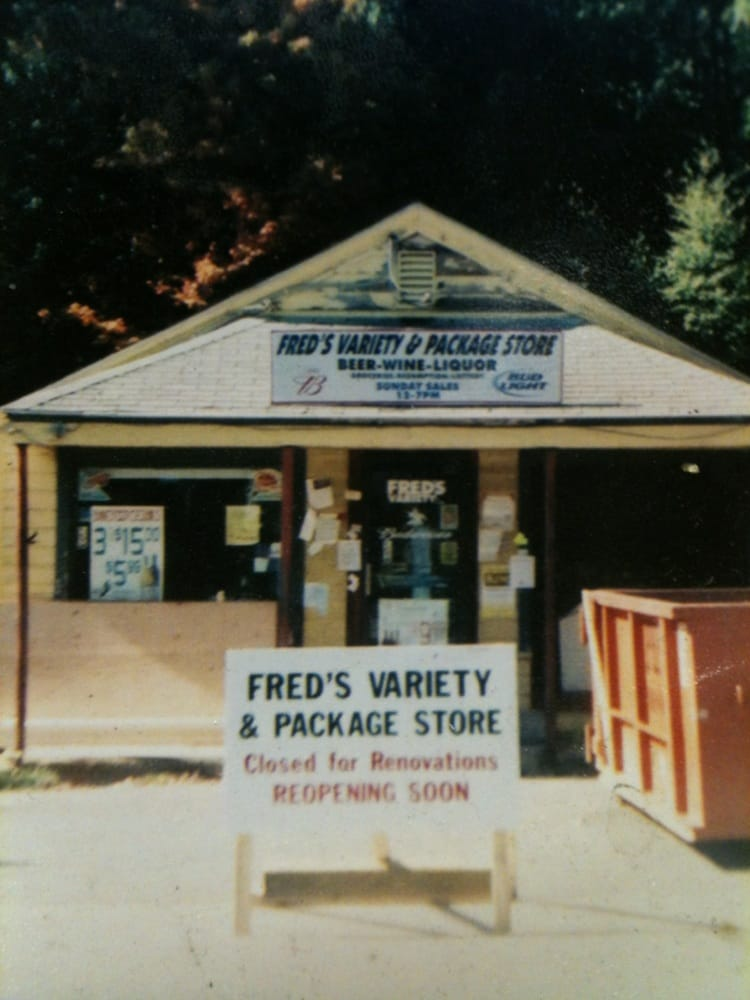 Fred's Variety & Package Store: 25 Brookfield Rd, Fiskdale, MA