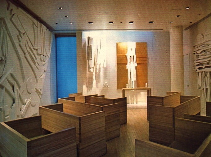 Chapel Of The Good Shepherd By Louise Nevelson Yelp