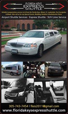 Florida Keys Express Shuttle And Limousines Marathon Fl