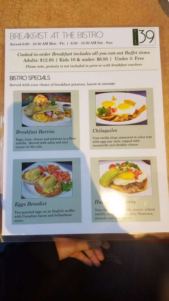Breakfast menu side 2 dec 2017 yelp - Hilton garden inn breakfast menu ...