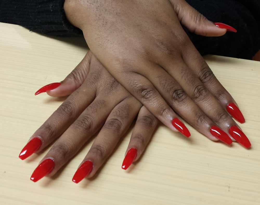 Coffin shaped nails - Yelp