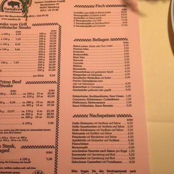 Sanders Nürnberg sanders steakhaus 39 fotos 84 beiträge steakhouse längenstr 10 nordost nürnberg