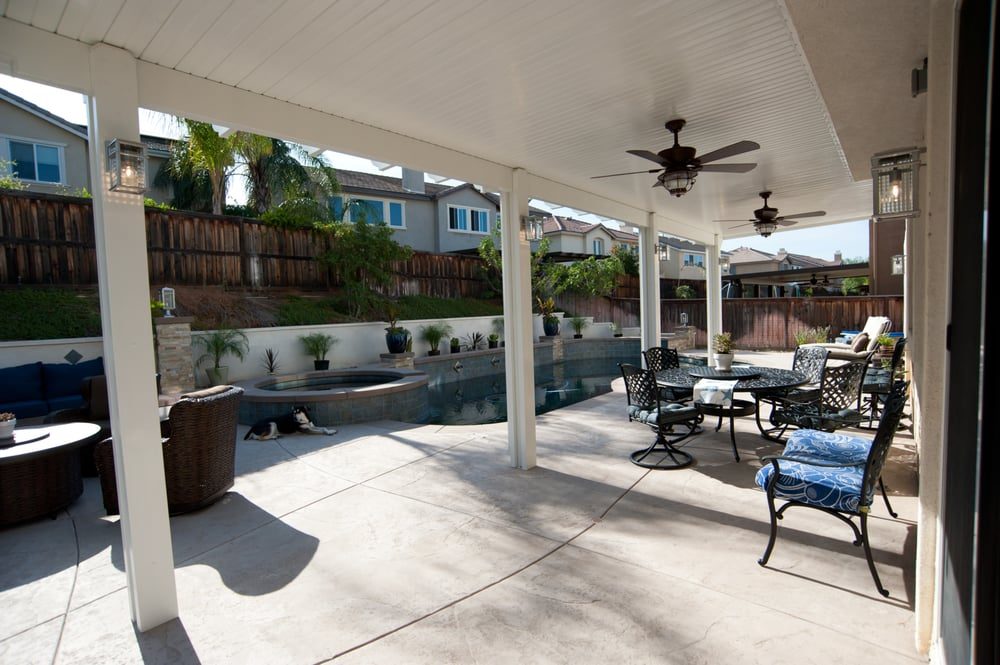 Photo Of Patio Guy   Winchester, CA, United States. Solid 12x35 Ft Patio