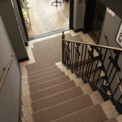 Charmant Photo Of Custom Stair Runners   Bohemia, NY, United States. Grey Sisal Stair