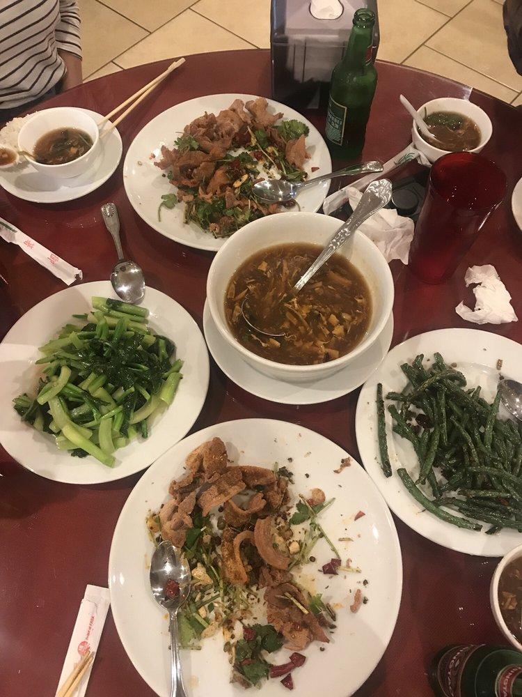 shredded beef sautéed cabbage szechuan style hot  sour