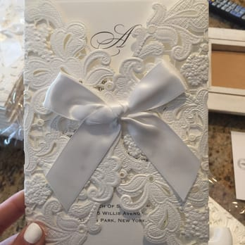 Marvelous Photo Of B Wedding Invitations   Torrance, CA, United States. Lace Wrapped,