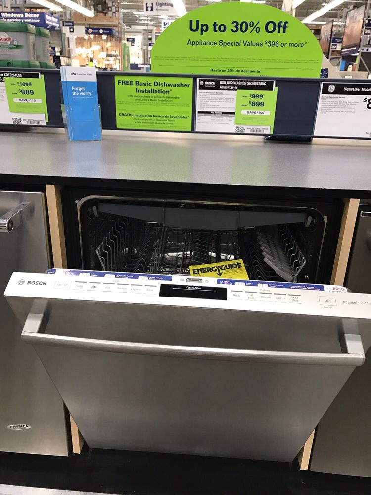 Bosch Silence Plus 44 Dba This Dishwasher Is So Quiet I