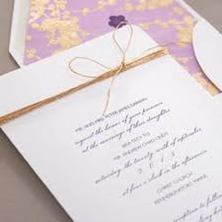 Photo of Sealed With A Kiss - Philadelphia, PA, United States. Checkerboard invitations