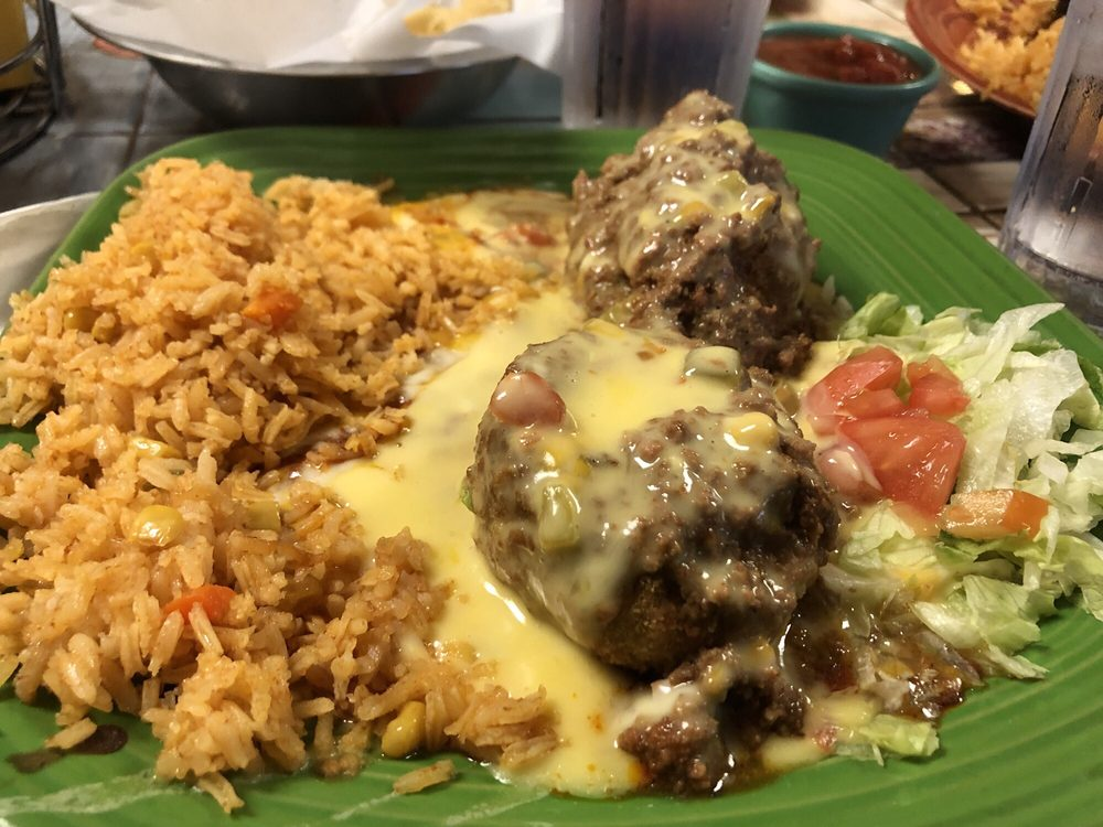 Food from Pepito's Mexican Restaurante