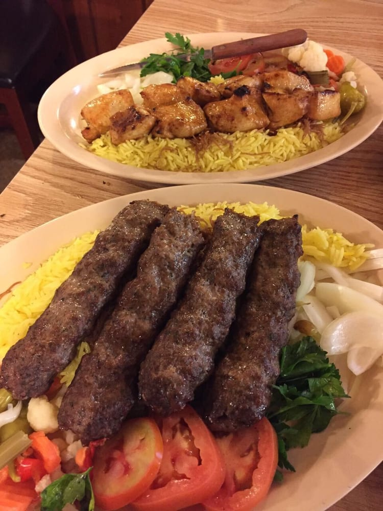 Lamb kebab and chicken tekka yelp for Ali baba cuisine