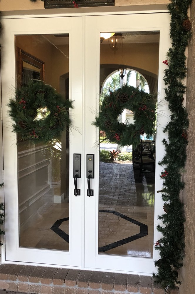 Photo of Alco Windows u0026 Doors - Doral FL United States. Impact French & Impact French Door Installation. Hurricane French Door by CGI. - Yelp