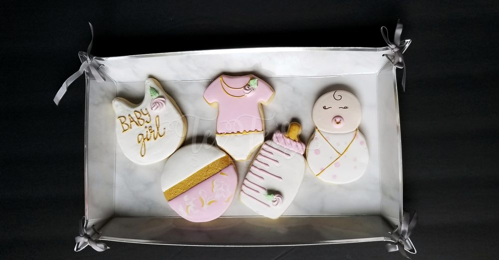 Baby Girl Baby Shower Cookies Yelp