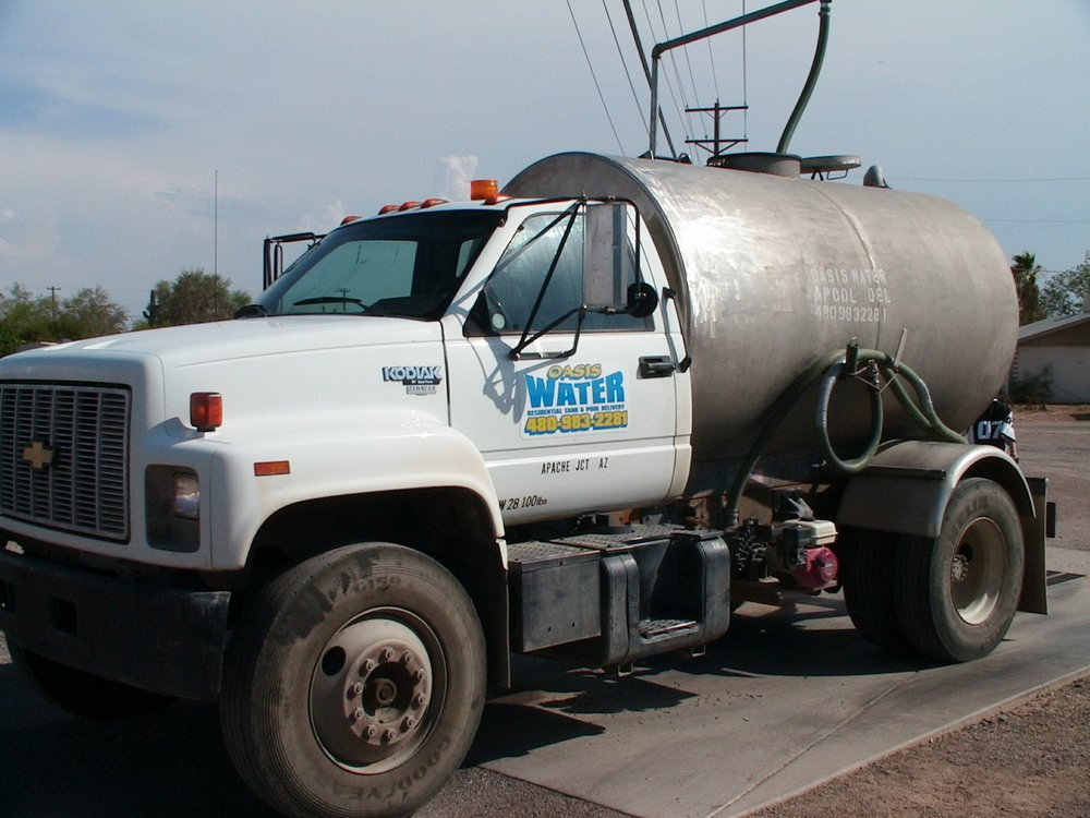 Oasis Residential Tank & Pool Water Delivery: Apache Junction, AZ