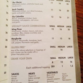 Our Menu — Selkirk Pizza & Tap House