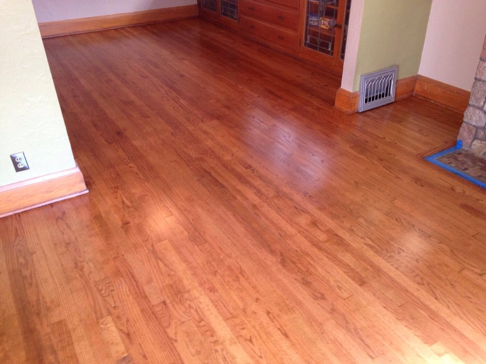 Flooring Innovations Green Bay Red Oak Wood Floor Stained