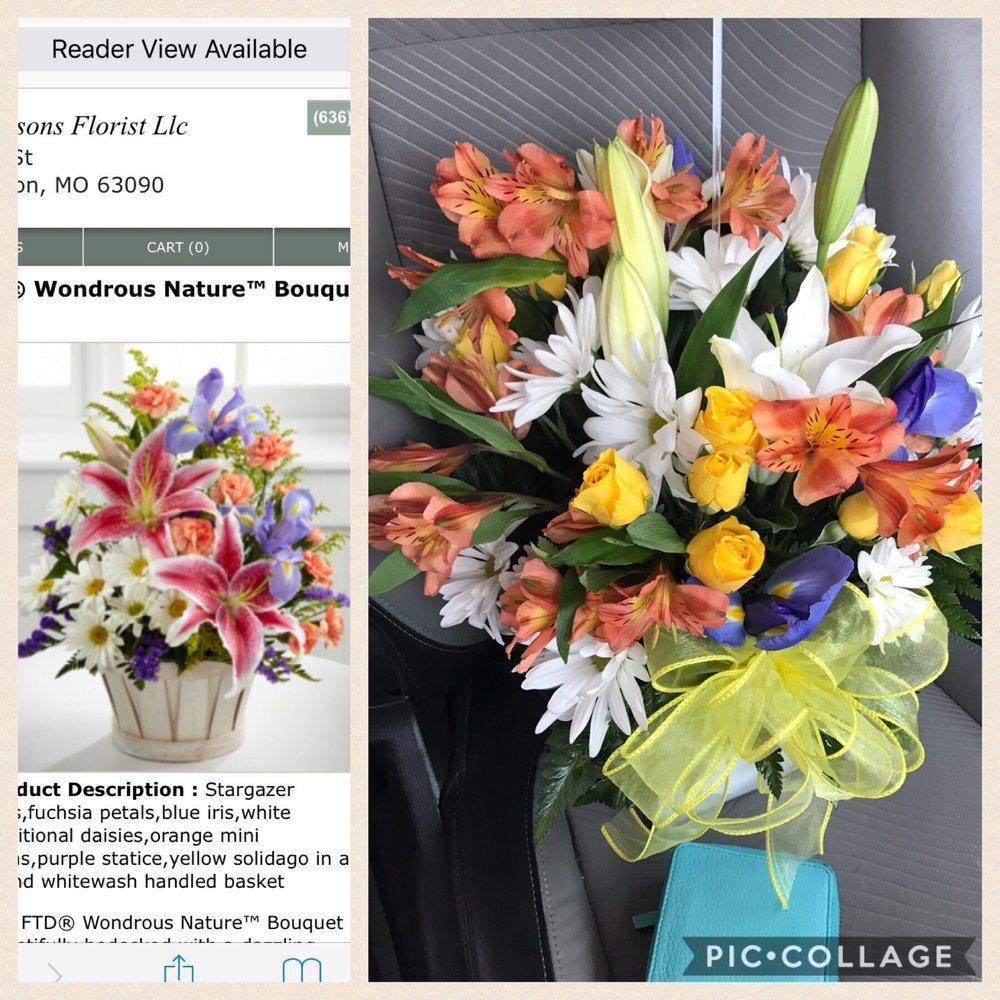 Four Seasons Florist: 211 Elm St, Washington, MO