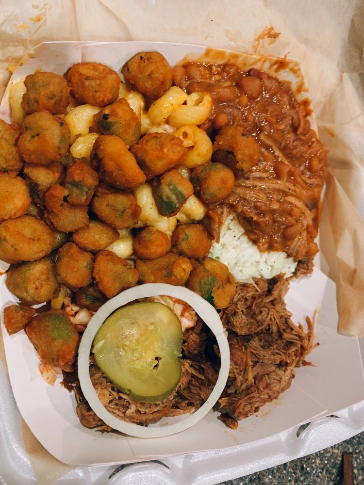 Johnny Roger's BBQ & Burgers: 3709 Concord Pkwy S, Concord, NC