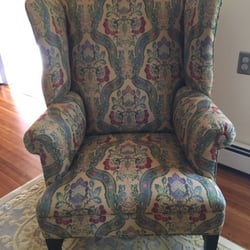 Exceptional Photo Of Classic Upholstery   Wilmington, MA, United States. Beautiful  Antique Wing Chair