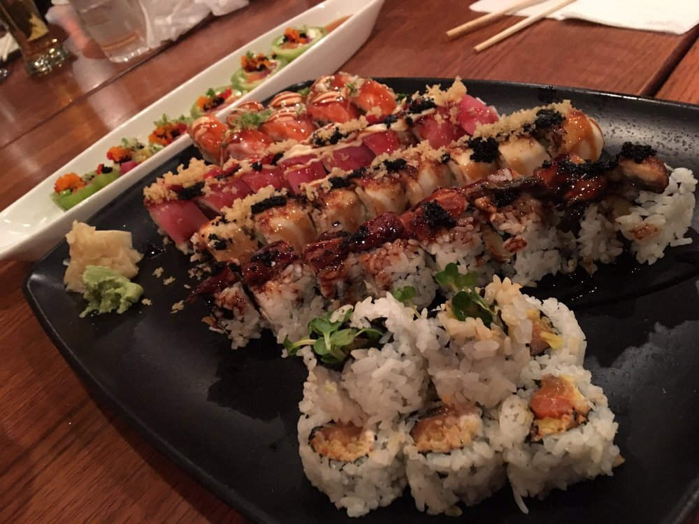 Food from Fin Japanese Cuisine