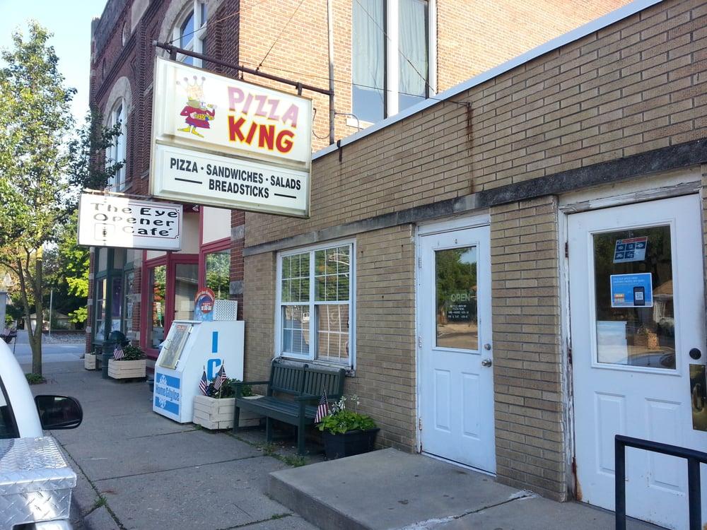 Battle Ground Pizza King: 105 North St, Battle Ground, IN