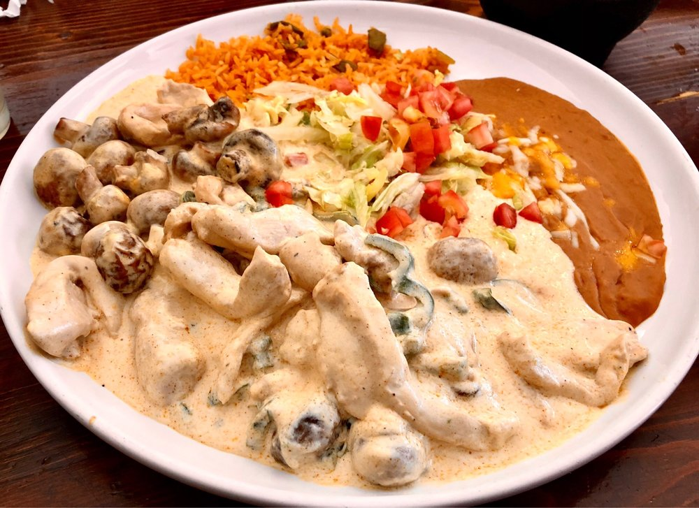 Food from Tequilas Family Mexican Restaurant