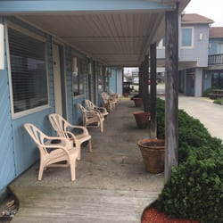 Photo Of Beach Haven Motel Kitty Hawk Nc United States Covered Porch