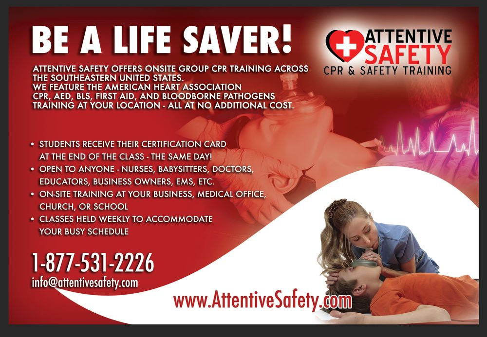 Attentive Safety Cpr Safety Training 73 Photos Cpr Classes