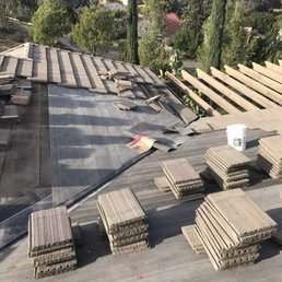 Captivating Photo Of All In One Roofing   Brea, CA, United States. Tile Repair